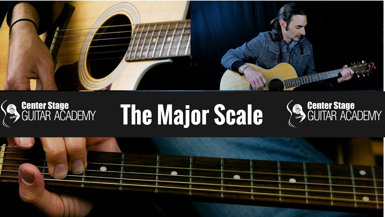 Beginner Guitar Lessons 3 – The Major Scale on Guitar