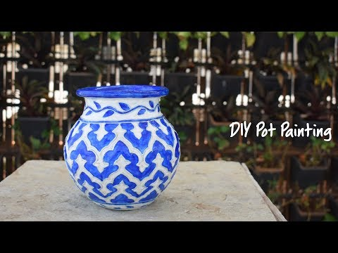 DIY Pot Painting