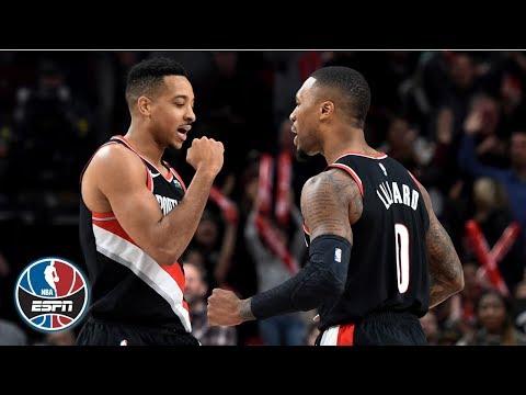 Video: Damian Lillard, CJ McCollum combine for 47 points to seal win vs. Timberwolves | NBA on ESPN