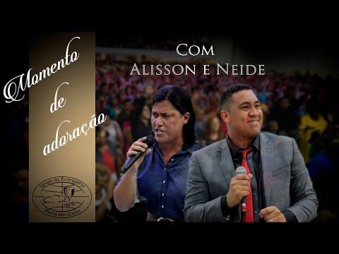 Alisson e Neide com apóstolo Rodrigo Salgado