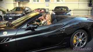 Girls Driving Supercars: 599 GTO, Mansory Stallone, SLS Roadster, DBS Volante And More