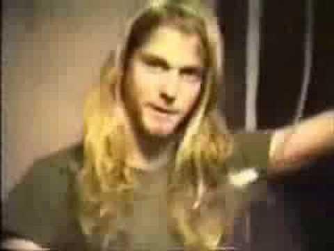 Nirvana-Mrs. Butterworth Tribute Music Video LYRICS: Your life is shit Shit