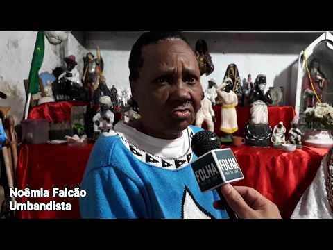 Umbandista denuncia intolerância religiosa em Piraí