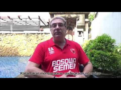 Video: Robert Alberts Ajak Diskusi Soal Isu Sepakbola Indonesia