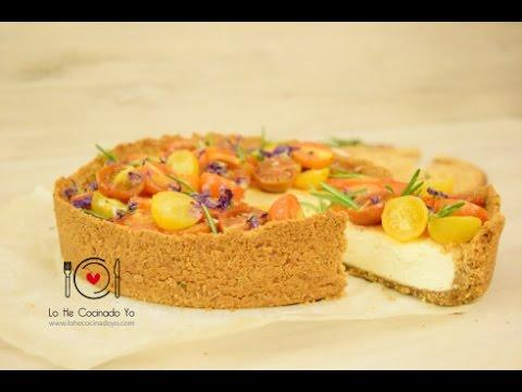 Receta de Cheesecake Salado con Tortas de Inés Rosales | LHCY (видео)