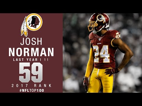 #59: Josh Norman (CB, Redskins)  Top 100 Players of 2017  NFL