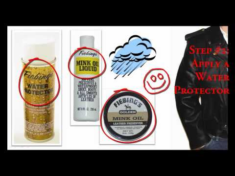 how to care leather jacket