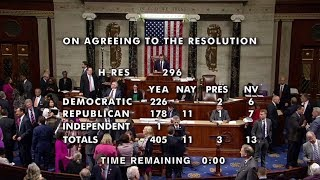US House of Representatives Overwhelmingly Approves a Resolution Recognizing the Armenian Genocide