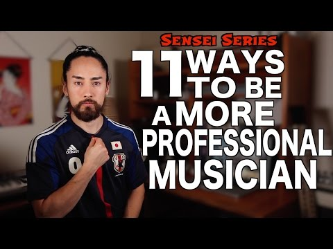 How To Be a More Professional Musician