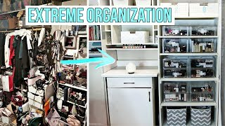 Organizing an Extreme Hoarder Room! *Shocking Transformation*