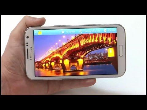 Galaxy Note II dá show com telona e caneta