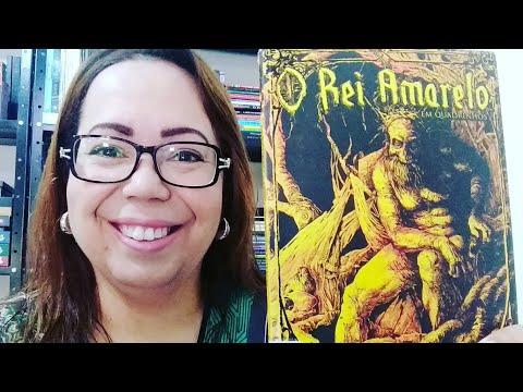 Mês do Horror #01 - O Rei Amarelo | Quadrinhos - Ed. Dracco