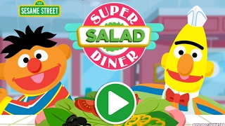 Sesame Street Bert and Ernie super salad diner kids game. Hey children, join these 2 best friends in serving food at a restaurant against the tide of customers ...