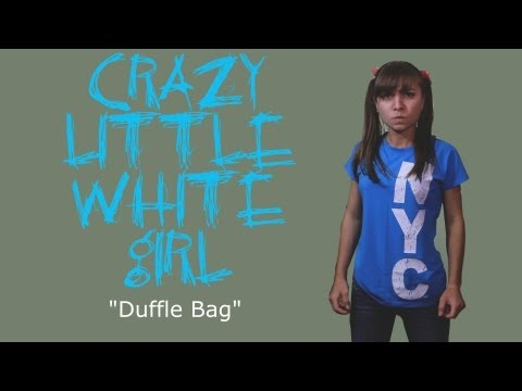 "Crazy Little White Girl ""Duffle Bag"" 😂COMEDY😂 ( David Spates )"