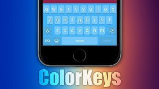 ColorKeys - iOS 9 Jailbreak Cydia Tweak, ios 9, ios, iphone, ios 9 ra mat