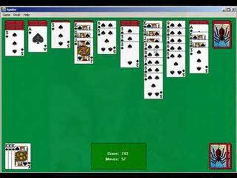 original spider solitaire download