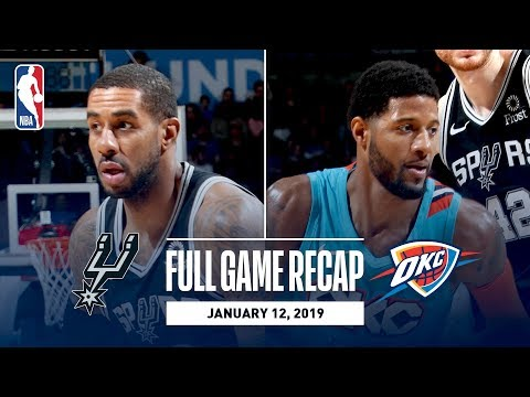 Video: Full Game Recap: Spurs vs Thunder | Strong Second Half Propels OKC