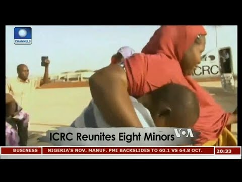 ICRC Reunites Eight Minors Displaced By Boko Haram | Africa 54 |