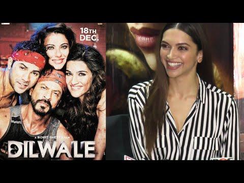 Deepika Padukone Watches Shahrukh Khan's Dilwale W