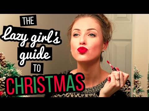 Guide - I'm BACK with another Lazy Girl's Guide: CHRISTMAS EDITION. Gift ideas, makeup tips & everything a lazy girl needs to get it together for Christmas 👌🎅 More LGG: http://bit.ly/LazyGirlsGuide...