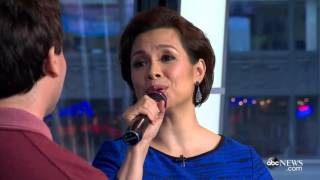 Video Lea Salonga and Brad Kane perform 'A Whole New World' on Good Morning America MP3, 3GP, MP4, WEBM, AVI, FLV Agustus 2017