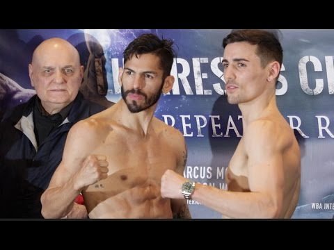 Linares v Crolla II: Weigh-in head-to-head