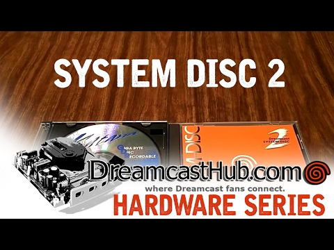 The Sega Dreamcast System Disc 2 Development Tool
