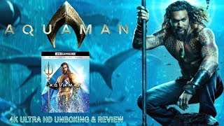 AQUAMAN - 4K Ultra HD - Unboxing & Review | BLURAY DAN