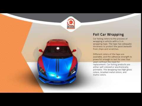 Qdesign Auto Center - Foil Car Wrapping