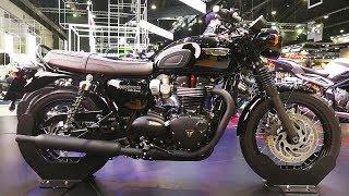 4. Triumph Bonneville T120 Black Jet Black