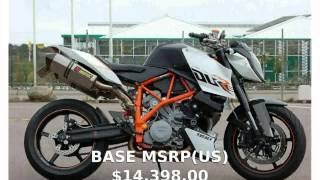 6. 2008 KTM Super Duke 990 Specification & Features
