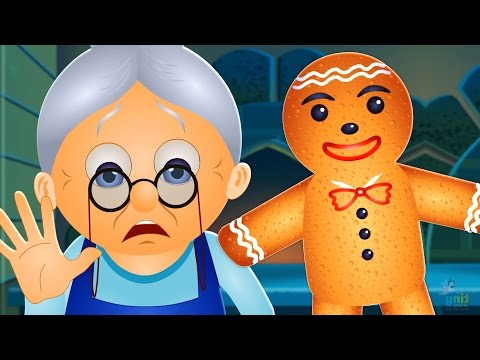 The Gingerbread Man Story | Fairy Tales for Children | By TinyDreams Kids