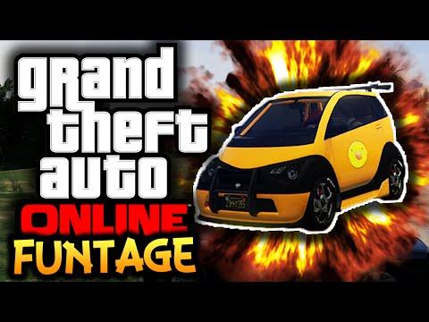 GTA 5: Online Next Gen – Funtage! – (GTA 5 Funny Moments)