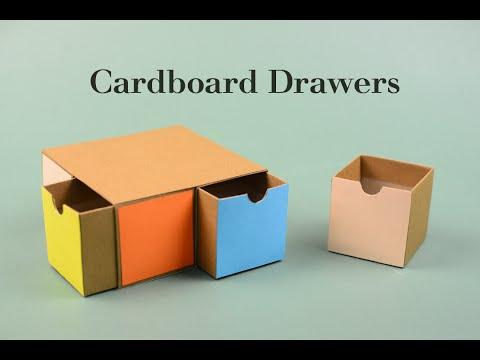 Video Cardboard Drawers 2 Tutorial | Creative DIY download in MP3, 3GP, MP4, WEBM, AVI, FLV January 2017