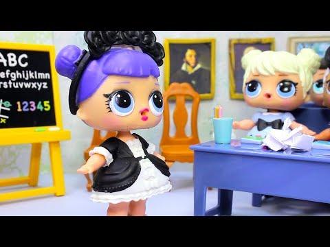 Мультик ЛОЛ LOL SURPRISE СТАРОСТА КЛАССА Куклы #ЛОЛ в Школе Игрушки для Девочек