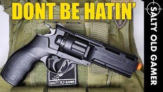 Elite Force H8R Revolver   SaltyOldGamer Airsoft Review