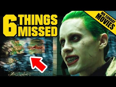 SUICIDE SQUAD Trailer Easter Eggs References  Things