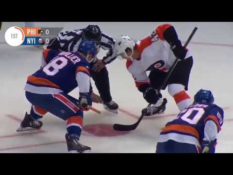 Islanders vs Flyers    Sep 16, 2018
