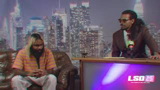 LSD25 - ZOMBIE JUICE ON THE LATE SHOW WITH SKINNY LIGHT (A FLATBUSH ZOMBIES SPECIAL FEATURE)