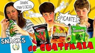 Probamos un montón de SNACKS salados de GUATEMALA, ¡suuper picantes! Una LOCURA: Taqueritos extremos, ranchitas, Jalapeños...***SUSCRÍBETE GRATIS aquí  http://goo.gl/IkkfYy  *** *** EDUCO: https://goo.gl/5VpHvz*** Suscríbete también al RESTO DE NUESTROS CANALES, ¡Te encantarán!:* HOY NO HAY COLE: http://www.youtube.com/ocioeducativo* AVENTURAS MÁGICAS: http://www.youtube.com/juegaconelpato* FACTORIA DE DIVERSION: http://www.youtube.com/factoriadediversion* JUEGA CON CLODETT: https://www.youtube.com/juegaconclodett * TOP TIPS & TRICKS IN 1 MINUTE: http://www.youtube.com/toptips*** SÍGUENOS EN:WEB: http://www.hoynohaycole.comFACEBOOK: http://www.facebook.com/hoynohaycoleTWITTER: http://www.twitter.com/hoynohaycoleINSTAGRAM: http://www.instagram.com/hoynohaycole @hoynohaycole, @mateo_the_boss_374, @bossatronio_hugo, @ladypecas