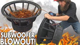 Blowing $8000 Worth of SUBWOOFERS!?! The BIGGEST Subwoofer BLOWOUT EVER w/ Rare 18