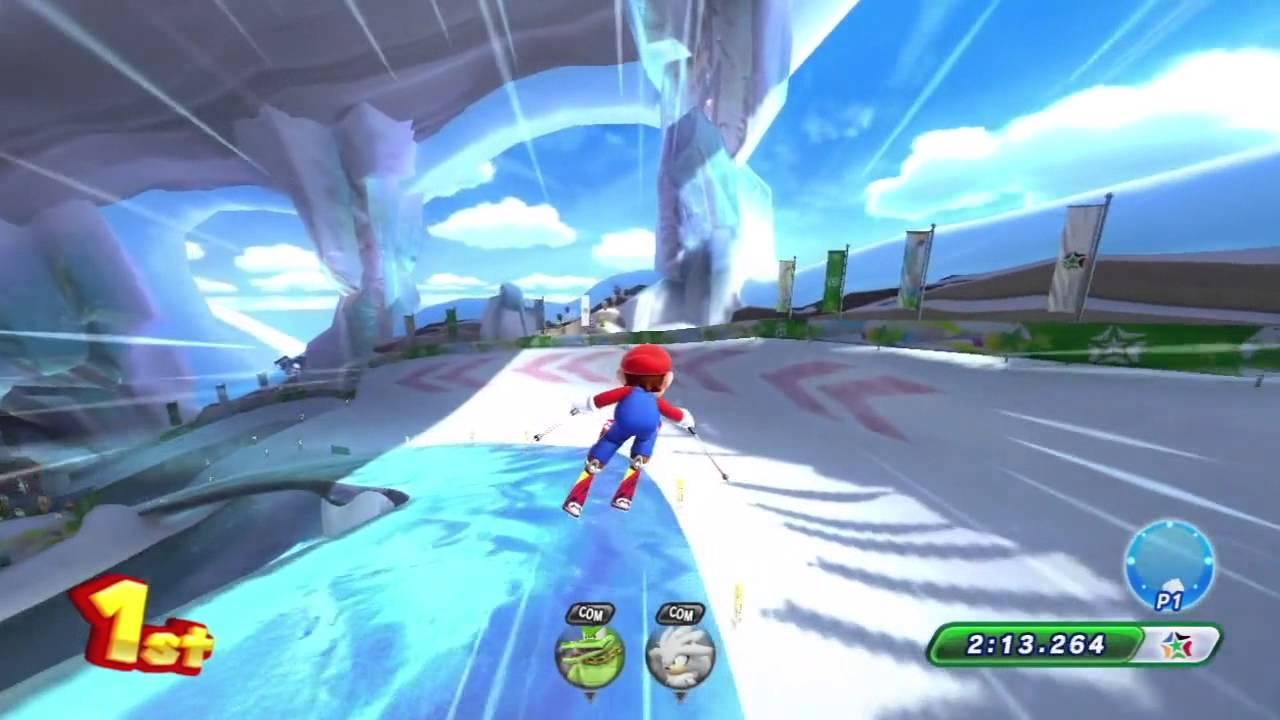 [Mario & Sonic Sochi 2014] Winter Sports Champion Race
