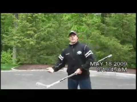 Pro Ambitions Hockey Driveway Tips #1 with Jeff Serowik