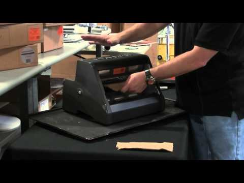 Video - Loading Laminate refills into the Xyron 1255 Cold Laminator
