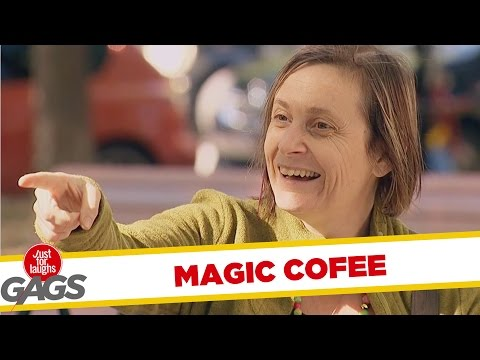Troll Hài Hước 2015 - Levitating Cofee Prank