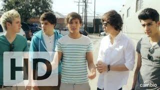 One Direction Guys Talk First Snog! | Cambio Valentine's Day Interview