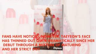 Subscribe to our channe Kpop And Entertainment This Is What Changed The Most About Taeyeon After Her Diet While Girls' Generation Taeyeon's beauty is ...