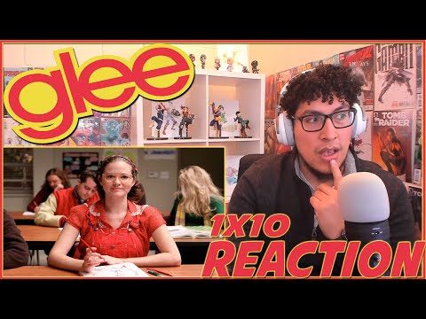 PUCK REVEALS HIS SECRET | Glee 1x10 REACTION | Season 1 Episode 10