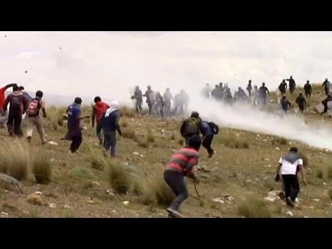 Περού: Βίαιη φοιτητική κινητοποίηση-Αστυνομικοί όμηροι διαδηλωτών