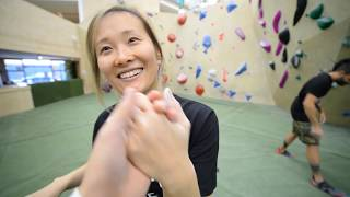 Climbing on Never Been Seen Holds by Bouldering DabRats